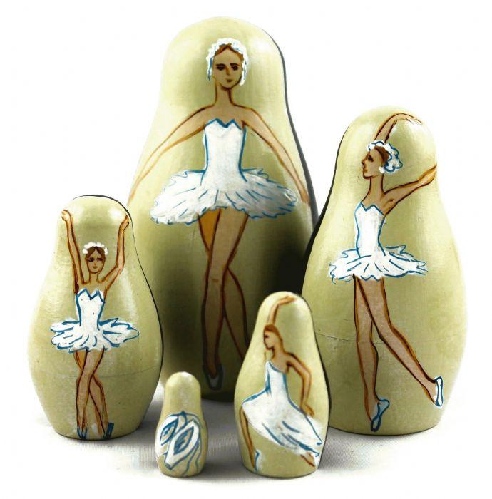 מטריושקה בבושקה רקדנית בלט 5170
