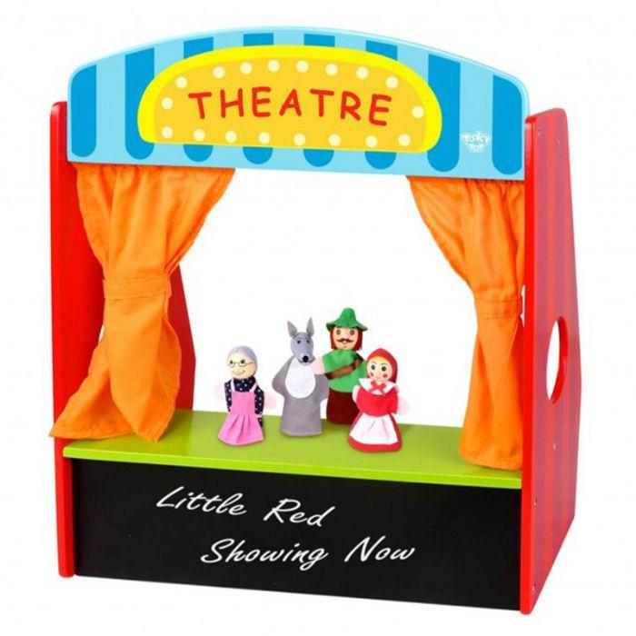 TOOKY תיאטרון בובות שולחני