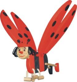 צעצועי עץ-מובייל-חיפושית מעופפת- 0603 -WOODEN TOYS