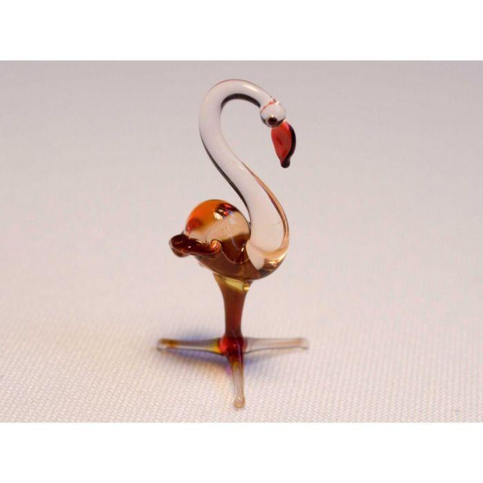 חיות זכוכית פלמינגו 810067