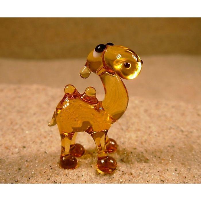 בעלי חיים מזכוכית גמל דוד דבשתי 810067