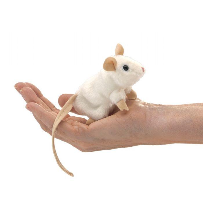 FOLKMANIS בובות אצבע עכבר לבן 2776