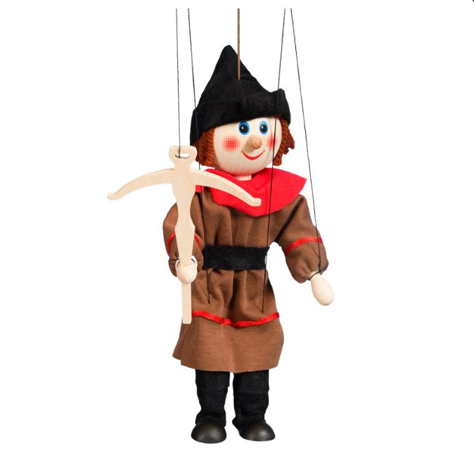 מריונטה בובת חוטים אביר 1627