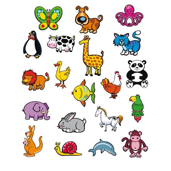 מגנט חיות מעץ  20 חיות שונות 589233