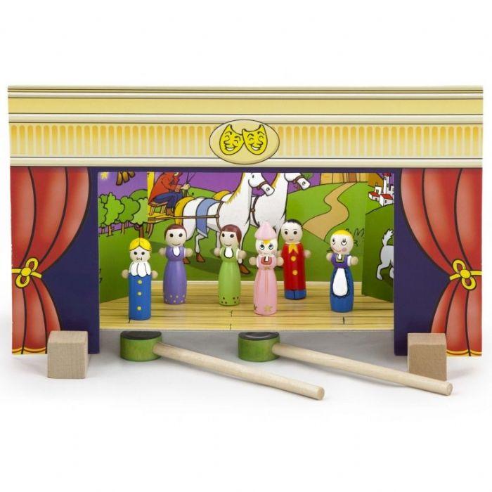 תיאטרון בובות מגנטי עם 15 דמויות 56005 VIGA