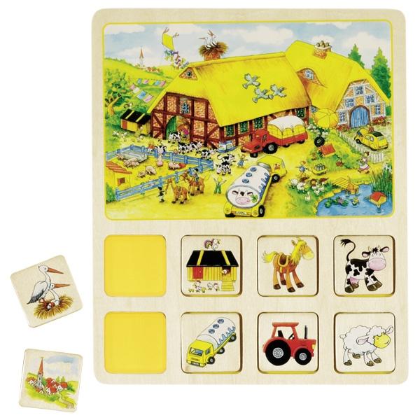 GOKI משחק לוטו מעץ 56740