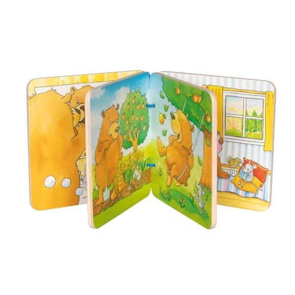צעצועי עץ GOKI ספר מעץ לזאטוטים 58772