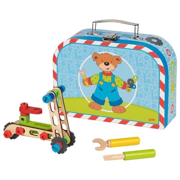 צעצועי עץ GOKI בניית כלי תחבורה  58737