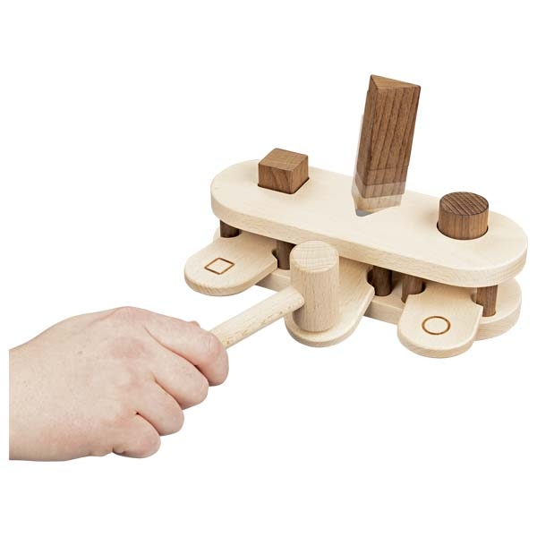 צעצועי עץ GOKI הך פטיש 58681