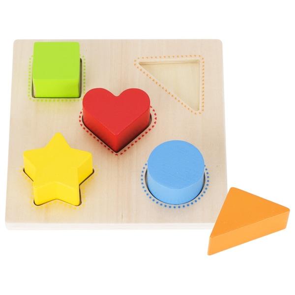 GOKI צעצועי עץ התאמת צורות 58516