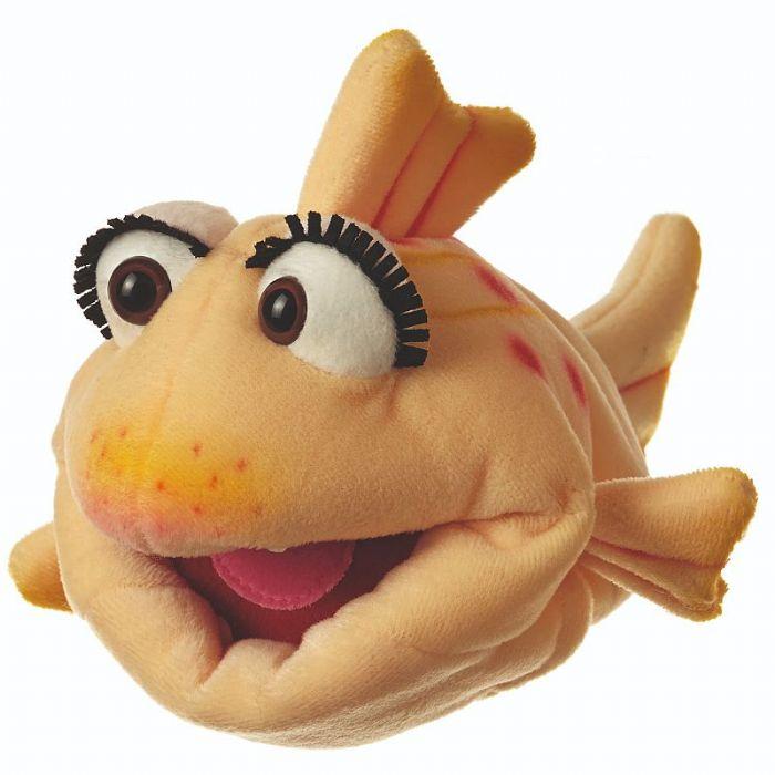living puppets  בובת דג פלופי W551