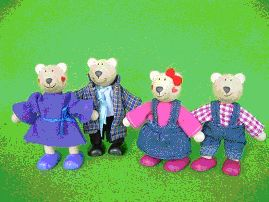 אנשים קטנים- משפחת הדובים
