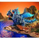 דרקון תלת ראשי כחול 2387 FOLKMANIS