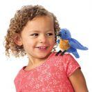 FOLKMANIS בובת ציפור כחולה 2755