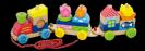 רכבת צבעונית פריקה