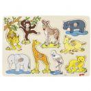 GOKI פאזל כפתורים חיות אפריקה 57829