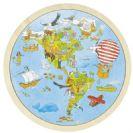 GOKI פאזל מפת העולם 57479