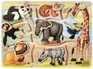 פאזל חיות אפריקאיות