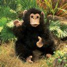 FOLKMANIS בובת שימפנזה קטנה 2877