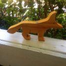 חיות מעץ- שועל 901001  צעצועי וולדורף- צעצועים אנתרופוסופים