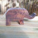 חיות מעץ- צעצועי וולדורוף-פיל 901006- צעצועים אנתרופוסופים