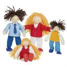 צעצועי עץ GOKI האנשים הקטנים משפחת צורקל 51800