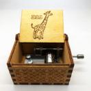צעצועי עץ תיבת נגינה עם שם 86001