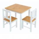 שולחן וכיסאות מעץ לפעוטות 51507