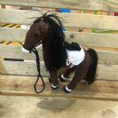 בובה סרוגה סוס קאליגולה