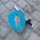 חרב ומגן מעץ  H1111