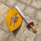 חרב ומגן עם שם H1000