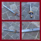 חרב מעץ עם שם 'אביר הרוח החרישית' H1007