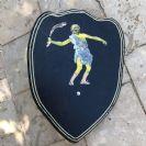 צעצועי עץ מגן מעץ 'דוד המלך' M1007