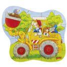 צעצועי עץ, GOKI' פאזל מכבי אש 57518A
