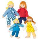 צעצועי עץ GOKI האנשים הקטנים משפחת מושייב 51955