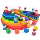 צעצועי וולדורוף מונטסורי דמויות עץ 6004