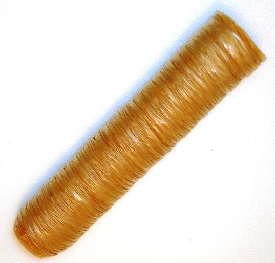 שרוול אכיל לנקניקיה קוטר 28 Collagen Casing