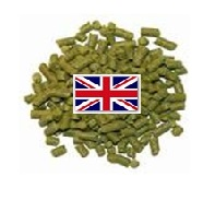 שקית 30 גר' כופתיות כשות  Hop pellets 30 gr. bag E.K.Golding
