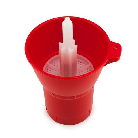 משטף חיטוי בקבוקים ספין Sanitizer Injector Spin