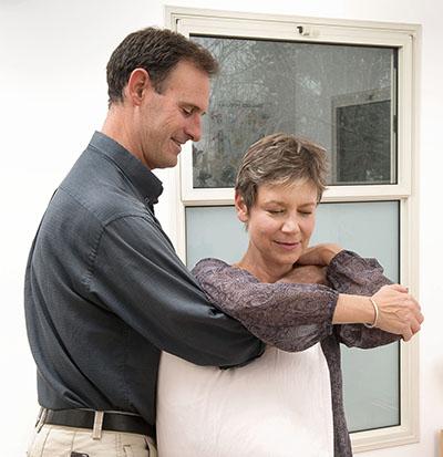 טיפול בכתף קפואה