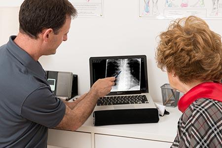 כאבי גב - צילום רנטגן