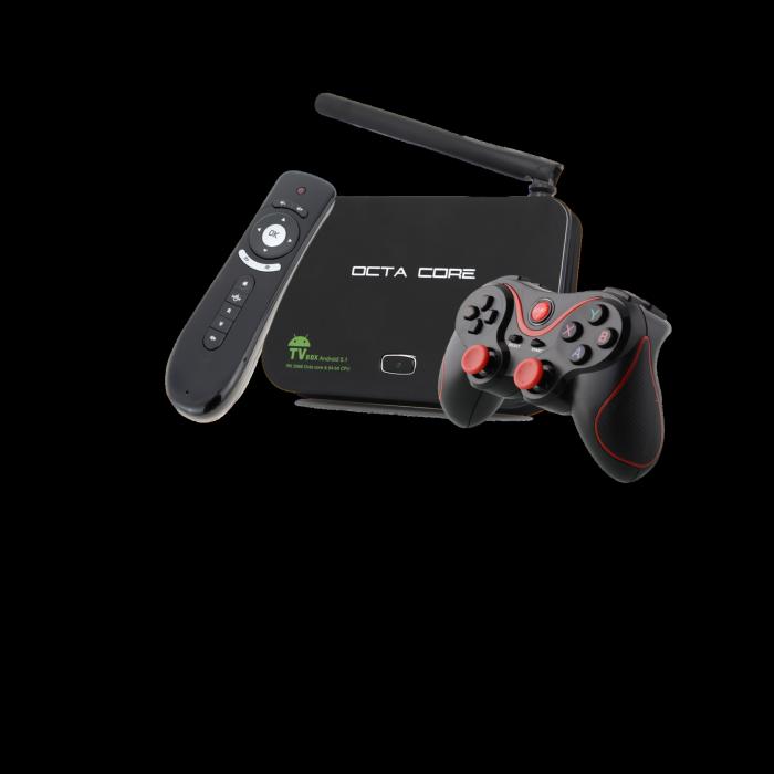 OCTA CORE Z8 - סטרימר נגן קודי וקונסולת משחקים