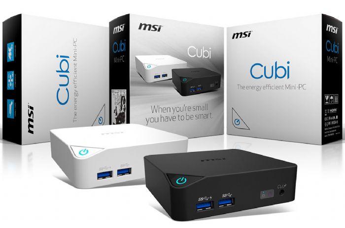 MSI  Hybrid Cubi - מיני מחשב DUAL BOOT היברידי - 2 מערכות הפעלה : Windows 10 + Android 6.0
