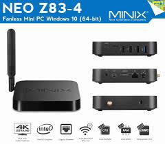 MINIX Z83-4 | מעבד Z8300 | זיכרון 4GB | נפח אחסון 32GB | מערכת הפעלה WINDOWS 10 | אחריות מלאה - מיבואן רשמי של מיניקס