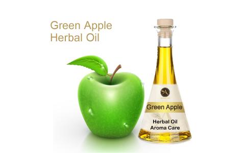 שמן צמחי תפוח ירוק