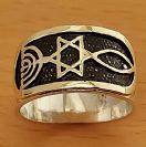 GR1X Gold & Silver Ring