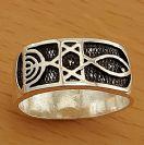 GR4 Silver Oxidized Ring