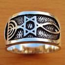 GR7 Silver Ring