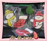 עוגיות איש שלג וגרבי חג