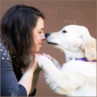 גוני סער, מטפלת בעזרת כלבים בילדים, מאלפת כלבים